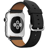 Ремешок Apple Watch 42mm Black Classic Buckle (MLHH2)