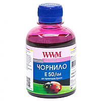 Чернила Epson Stylus Photo R200/R340/RX620 1000г Light Magenta Water WWM (E50/LM-4)