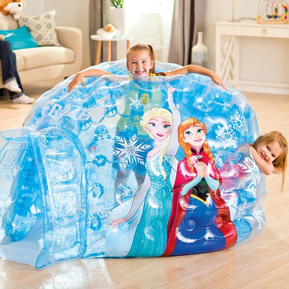 Надувной игровой центр-домик Intex Холодное Сердце 185х157х107 см (48670)