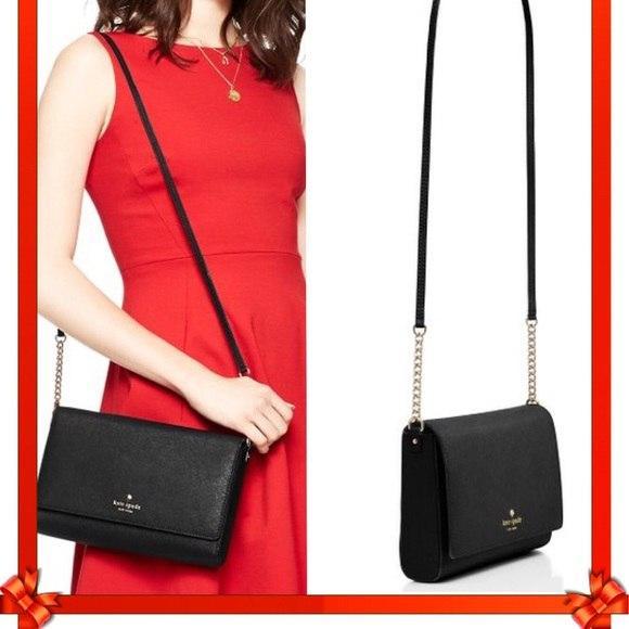 Стильная чёрная сумочка ♥Kate Spade New York ♥