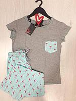 Женская пижама футболка и штаны, фото 1