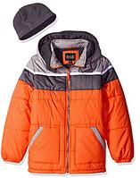 Куртка  оранжевая iXtreme(США) с шапкой для мальчика 3-5 лет