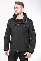 Стильная мужская куртка из пальтовой ткани