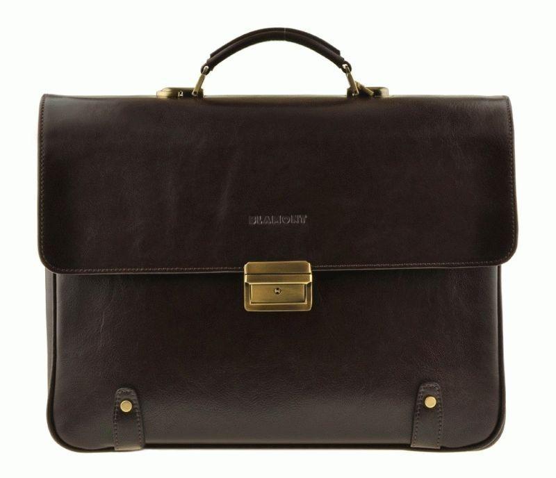 Мужской кожаный портфель Blamont Bn044