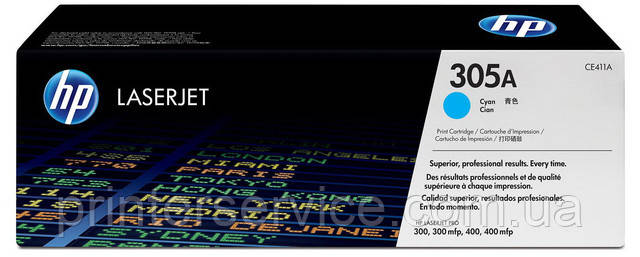 Картридж CE411A (305A) для HP Pro M351, M375, M451, M475 series
