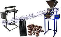 Дозатор и запайщик для фасовки кофе по 1-2 кг