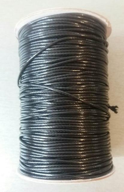 Шнур вощеный, лаковый 1,5 мм