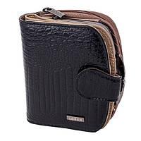 Женский кожаный кошелек Loren 43972-RC Black