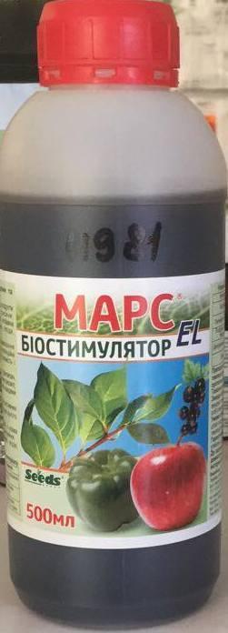 Биостимулятор роста Марс-EL (500мл) — пленкообразующий, для семян и растений, убережет от заморозков и засухи