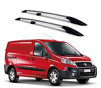 Рейлинги Fiat Scudo 2007-2015 с металлическим креплением