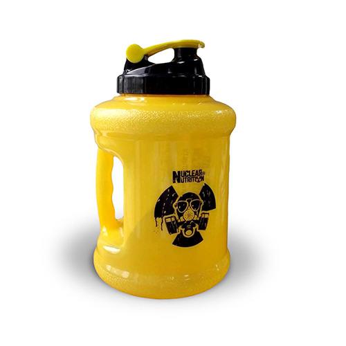 Бутылка для воды Nuclear Nutrition - Gallon Hydrator (2200 мл) желтая