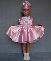 """Костюм """"Конфетка""""№1 на возраст от 3 до 6 лет розовый"""