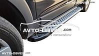 Подножки боковые для Chevrolet Captiva II FL 2012-2015 (в стиле BMW X5 ARP)