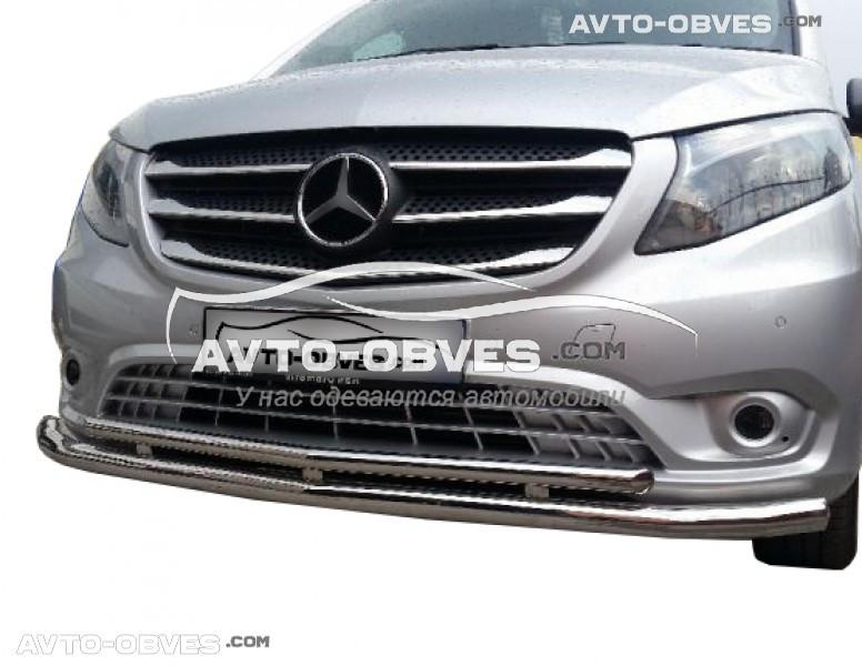 Захисна дуга подвійна для Mercedes Vito \ V class 2015-2020