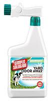 SIMPLE SOLUTION / Средство для мгновенной нейтрализации запахов мочи и кала на садовых учас. и газоне / 945 мл