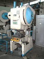 Пресс однокривошипный простого действия открытый КД2324 (усилие 25 тонн)