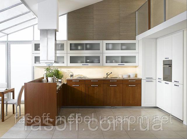 Кухня в современном стиле МДФ пленочный 022