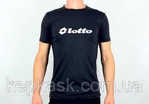Футболка Lotto black-blue, фото 2