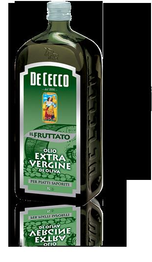 Оливковое масло с фруктовыми нотами De Cecco Il Fruttato extra vergine 1 л.