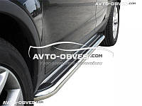 Защита бокового порога, подножки для Ford Kuga 2013-2016, Ø 42 \ 51  \ 60 мм
