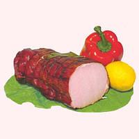 Мясо свинина варёно-копченое