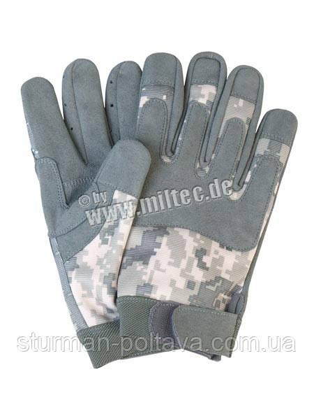 Перчатки комбинированые армейские ACU DIGITAL Mil-tec Германия