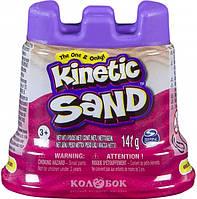 Песок для детского творчества - Kinetic Sand Мини-крепость, розовый, 141 г