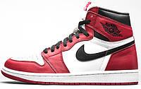 Мужские кроссовки Air Jordan 1 Chicago Red/White