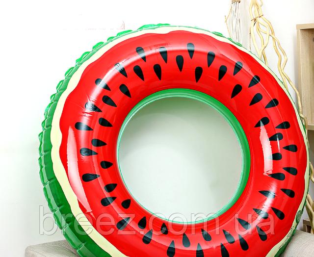 Надувной круг Арбуз 90 см