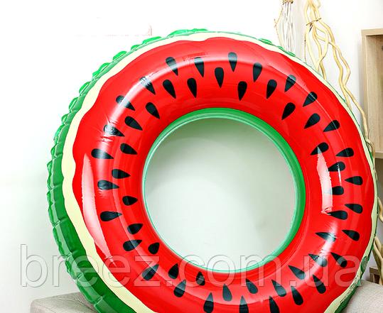 Надувной круг Арбуз 90 см, фото 2