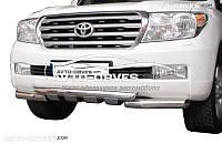 Дуга переднего бампера для Toyota Land Cruiser 200 двойной ус