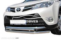 Защитная дуга двойная для Toyota Rav4 2013-2016