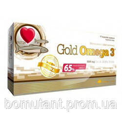 Gold Omega 3 65% 60 капсул OLIMP