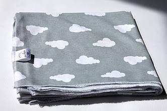 Пелюшка дитяча трикотаж Хмаринки 75х75