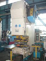 Пресс механический кривошипный КД2132 (усилие 160 тонн)