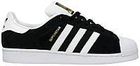 Мужские кроссовки Adidas Originals Superstar East River Rivalry (Адидас Суперстар) черные