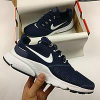 Кроссовки мужские Nike Air Presto - High, цвет - синий, материал - текстильная сетка, подошва пенка.