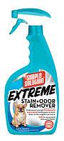 SIMPLE SOLUTIO Extreme stain / Сверхмощный средство для нейтрал. запахов и удаления пятен от собак / 945 мл