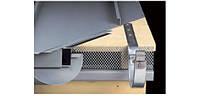 Перфорированный плоский лист AERO63 Rheinzink prePatina walzblank, 1,0мм, 1000*2000мм, перфорация 63%