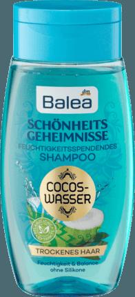 Шампунь для сухих и поврежденных волос Balea Schönheitsgeheimnisse Cocos Wasser, 250 ml