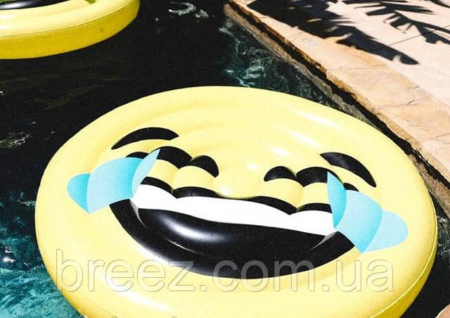 Надувной плот Смайл Широкая улыбка 150 см, фото 2