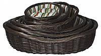 Набор лежаков Trixie Dog Baskets плетеные, с матрасом, 6 шт