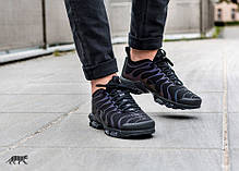 Мужские кроссовки Nike Air Max Plus TN Ultra Triple Black 898015-002, Найк Аир Макс ТН, фото 2