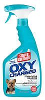 SIMPLE S. /Насыщенный кислородом средство для нейтрал.  запахов и удаления пятен от дом.  животных / 945 мл