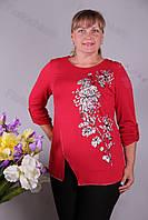 Блуза-туника трикотажная 424-осн625-155 батал от производителя Украина