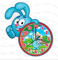 Часы крош фигурные из акрила мультяшные, фото 2