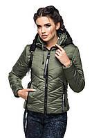 Молодежная женская куртка демисезонная Украина