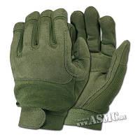 Перчатки комбинированые армейские цвет олива  Mil-Tec Германия