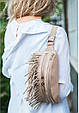 """Женская сумка на пояс """"Spirit"""". Светло-бежевая., фото 10"""