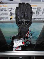 ATPOX APT NF-3857 Рукавиці зі шкіри та текстилю .чорного кольору
